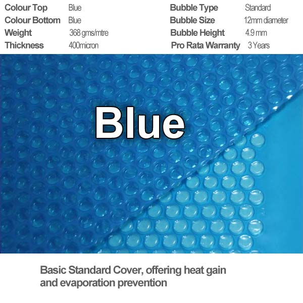 blue solar cover specifications