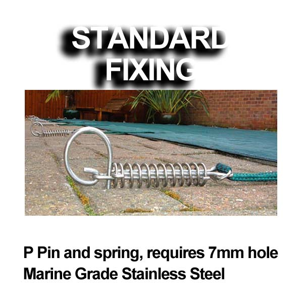 standard fixing pool anchor