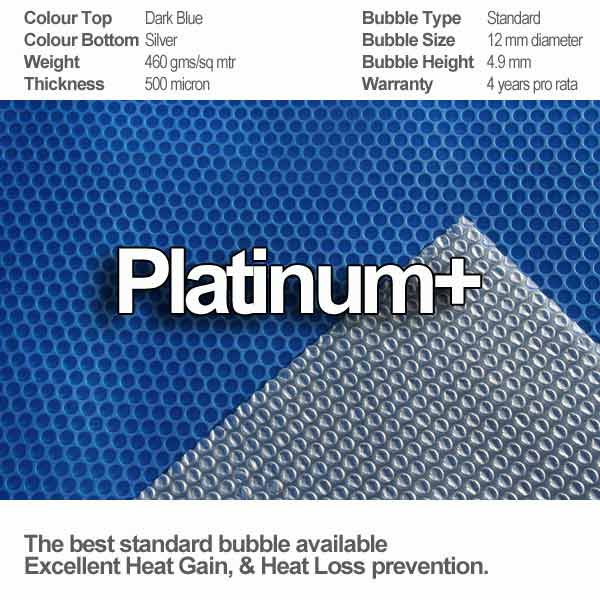 platinum+ geobubble solar cover specifications