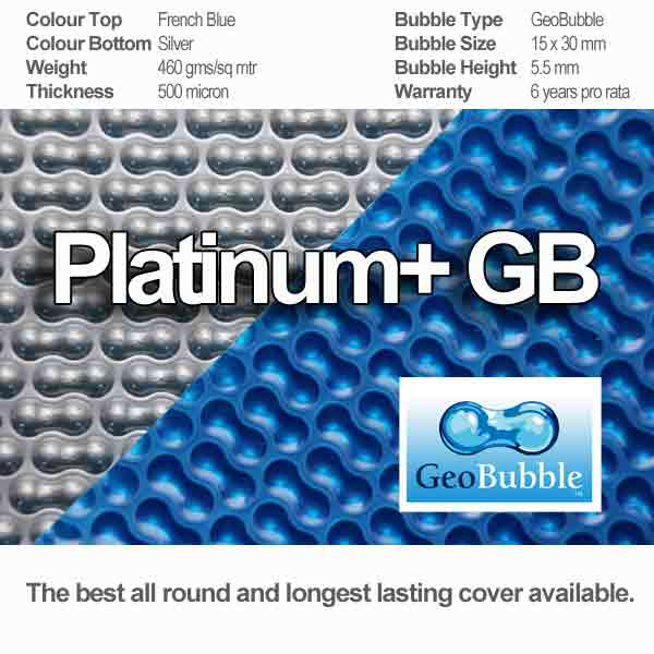 platinum + geobubble pool cover and its attributes
