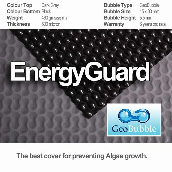 energyguard solar cover specifications