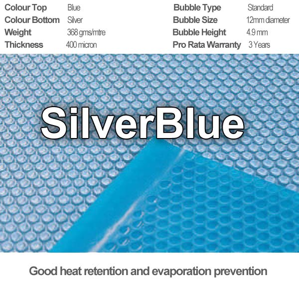 Silverblue solar cover specifications