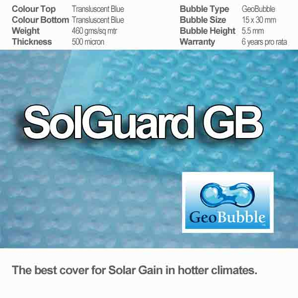 sol guard pool cover and the specification