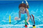 underwater game of dive sticks