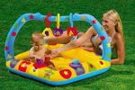 play gym and baby pool
