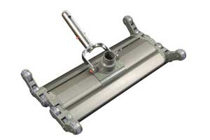 folding heavy duty pool vacuum head