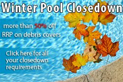 swimming pool winter closedown image